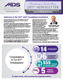 Foundation Newsletter Cover