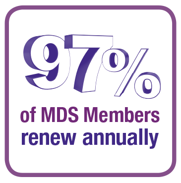 97% of MDS Members Renew Annually