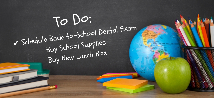 Schedule Back-to-School Dental Exams