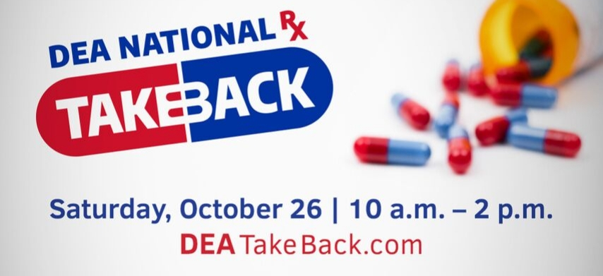 Prescription Drug Takeback Day October 26, 2019
