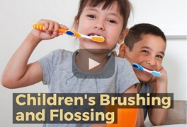 Childrens Brushing and Flossing